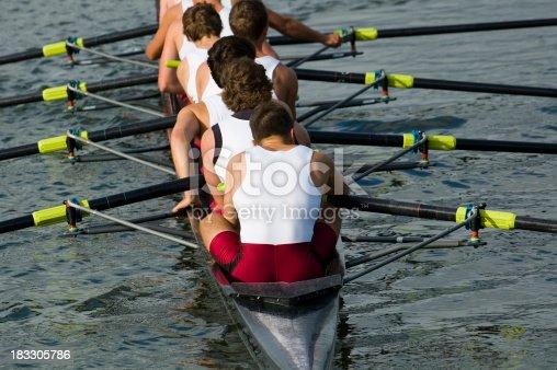 542823854 istock photo Men's 8-Man Rowing 183305786