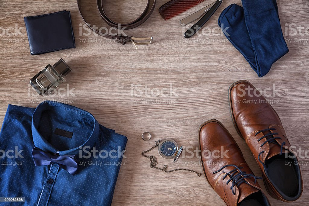 Men's Accessories stock photo