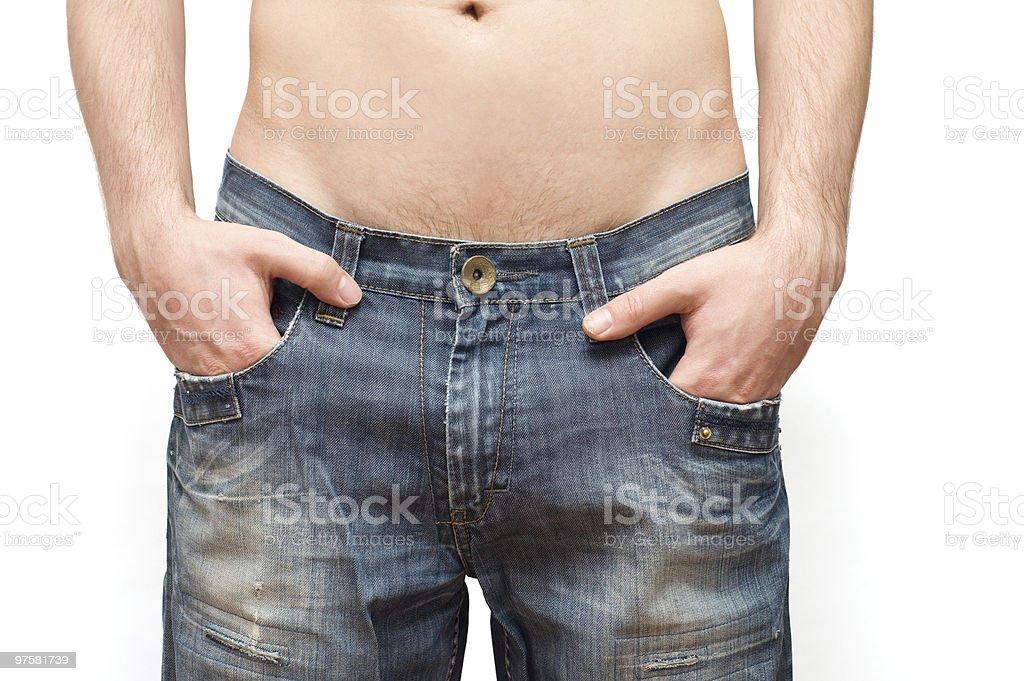 men's corps photo libre de droits