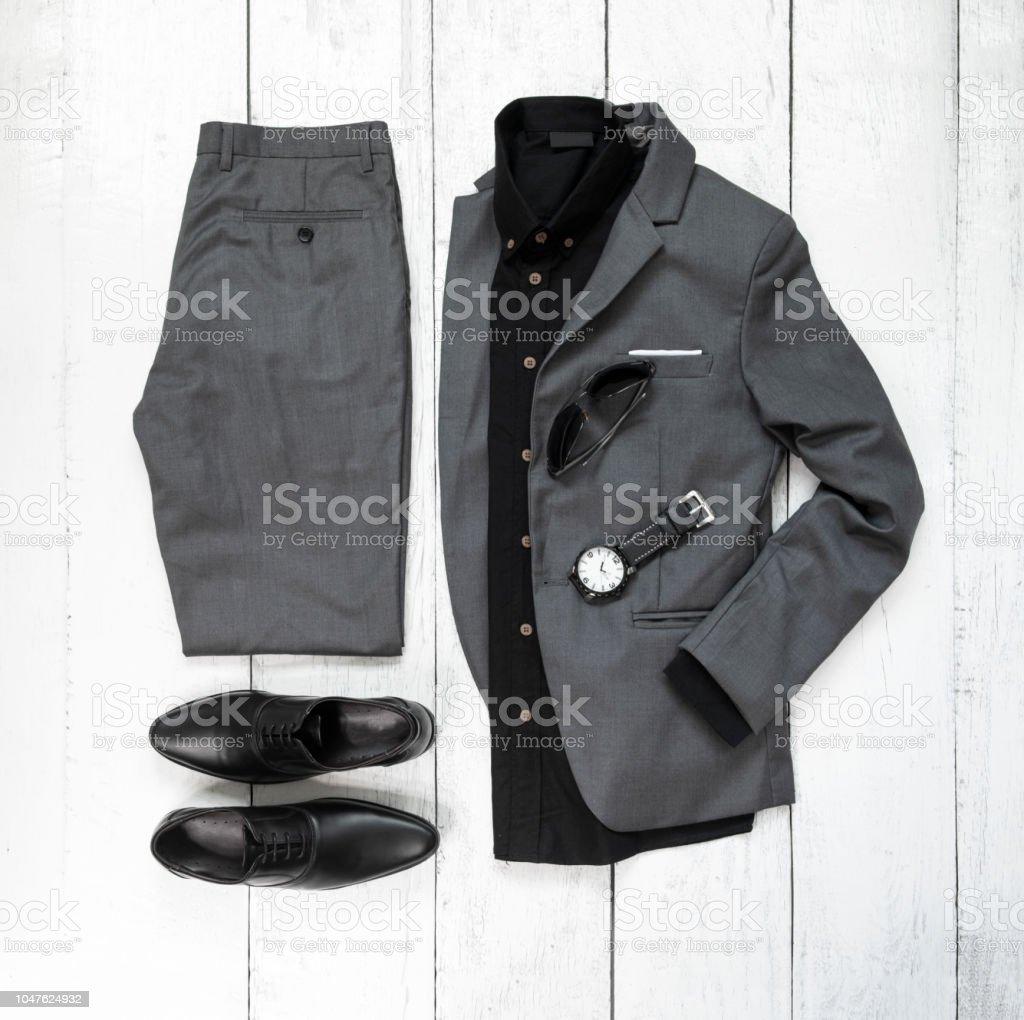 9af31fe20c Trajes casuales de hombres para hombre ropa con zapatos de la oficina