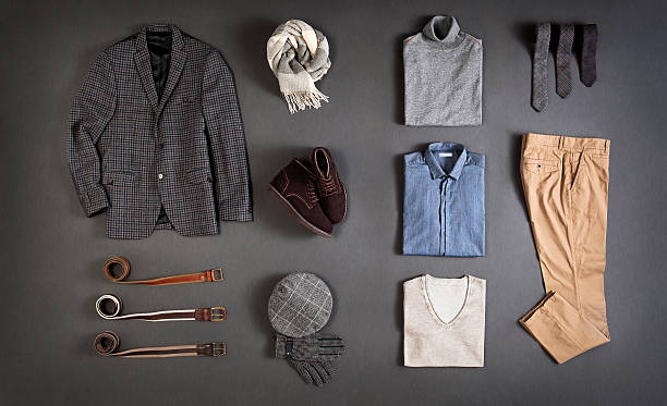 men's clothes - menswear stock photos and pictures