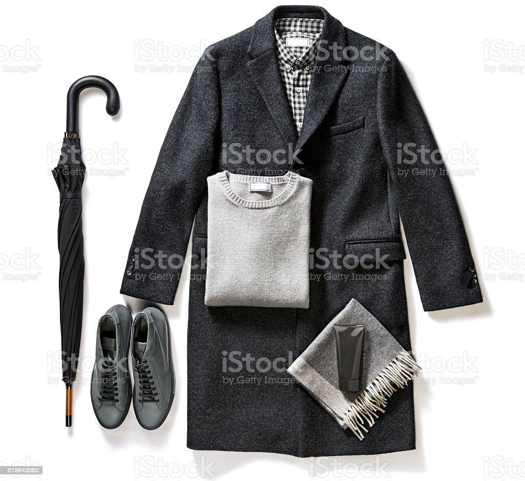 men's clothes stock photo