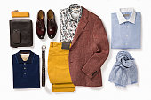 istock Men's clothing and personal accessories 822609802