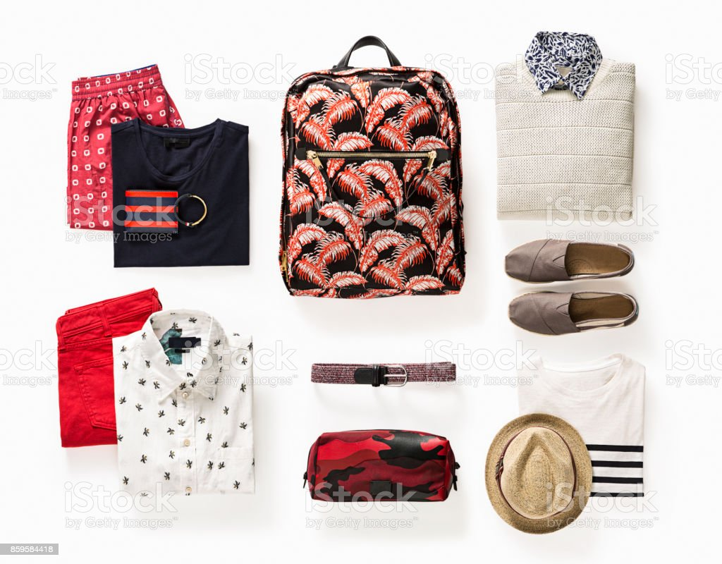 Herrenbekleidung und Accessoires – Foto