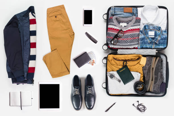 men's clothing and personal accessories - menswear stock photos and pictures