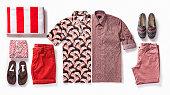 istock Men's clothing isolated on white background 984324980