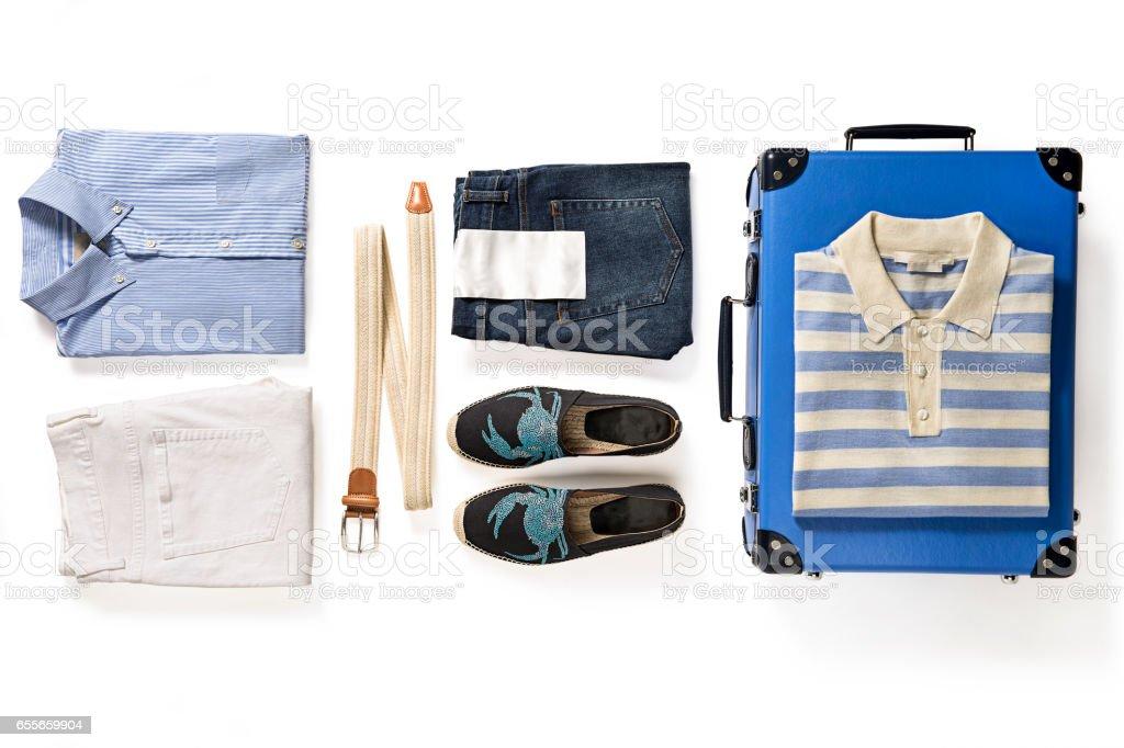 Men's clothing stock photo