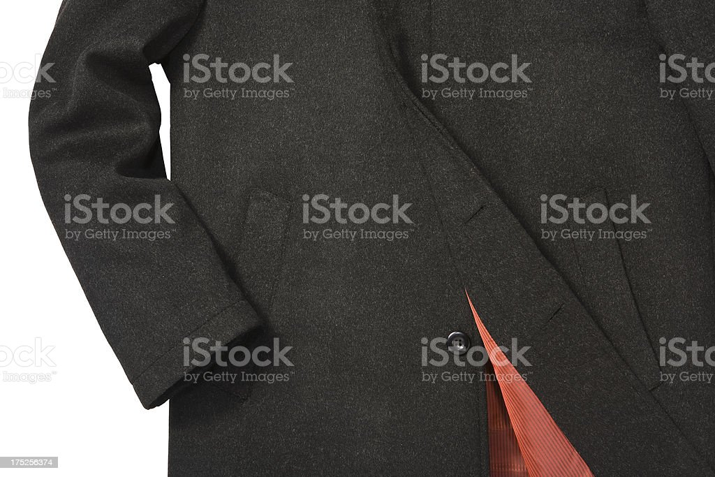 men's coat royalty-free stock photo