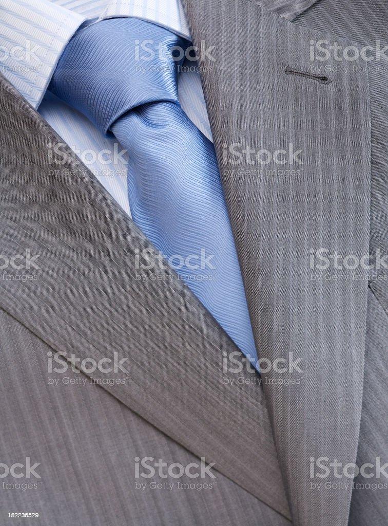 Men's fashion - shirt, tie and jacket stock photo