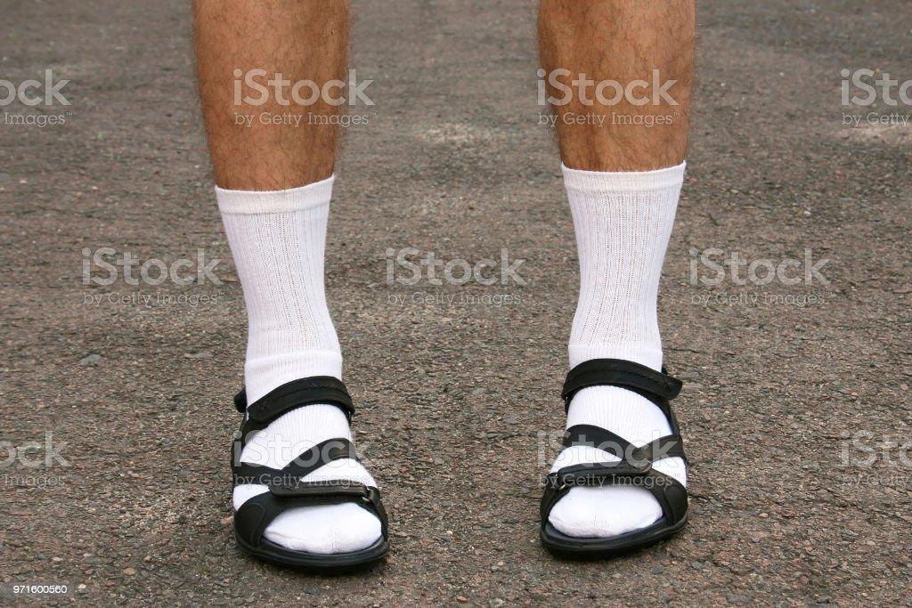 männer füße