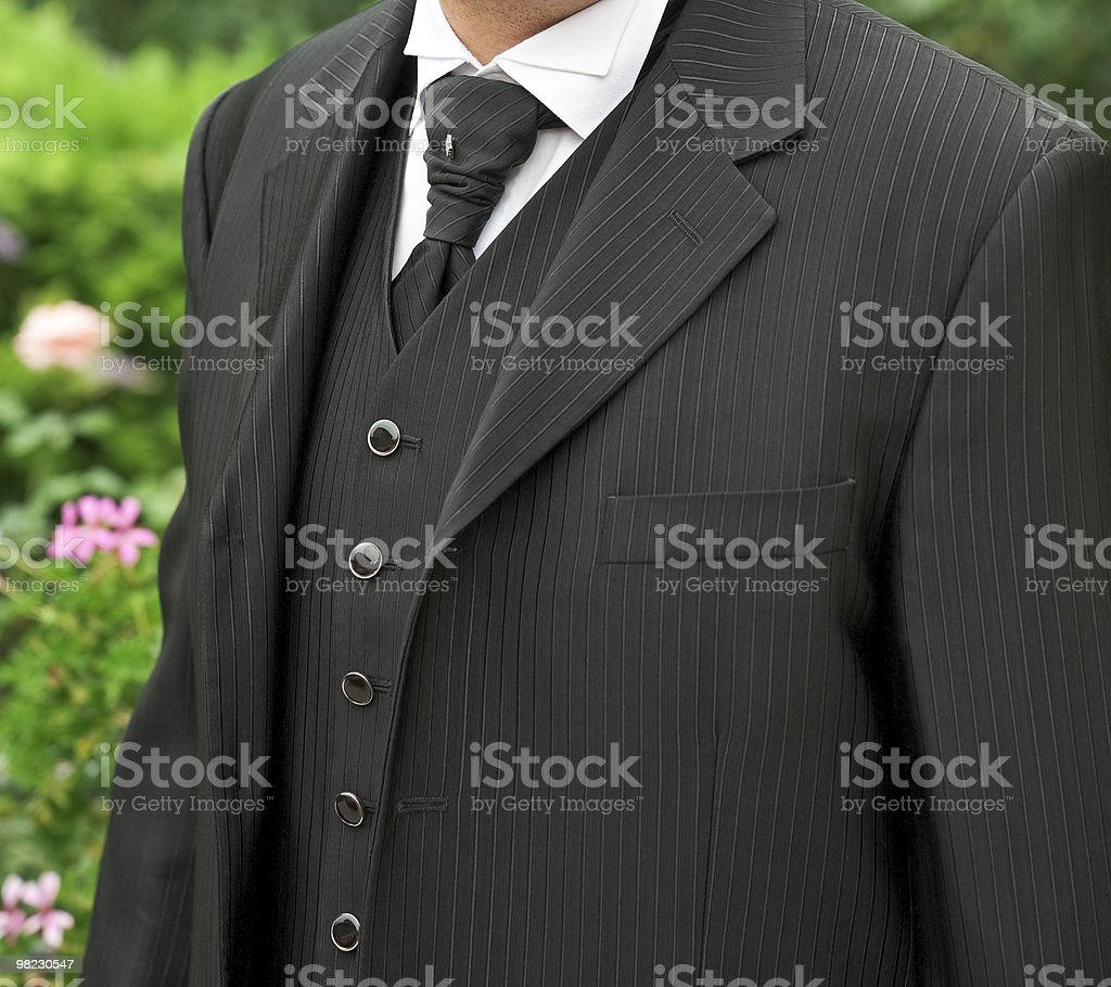 Men's formal dress. stock photo