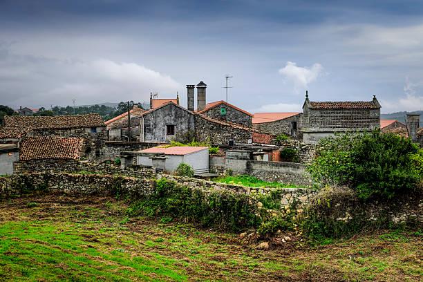 Mens, Galicia, Spain stock photo