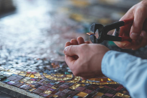 Best Mosaic Maker Stock Photos, Pictures & Royalty-Free Images - iStock