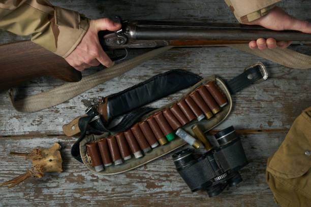 Best Double Barrel Shotgun Stock Photos, Pictures & Royalty