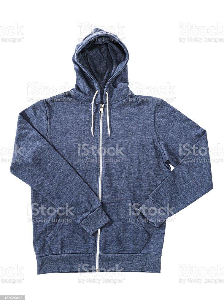 Men's hoodie, sweatshirt isolated on white background stock photo