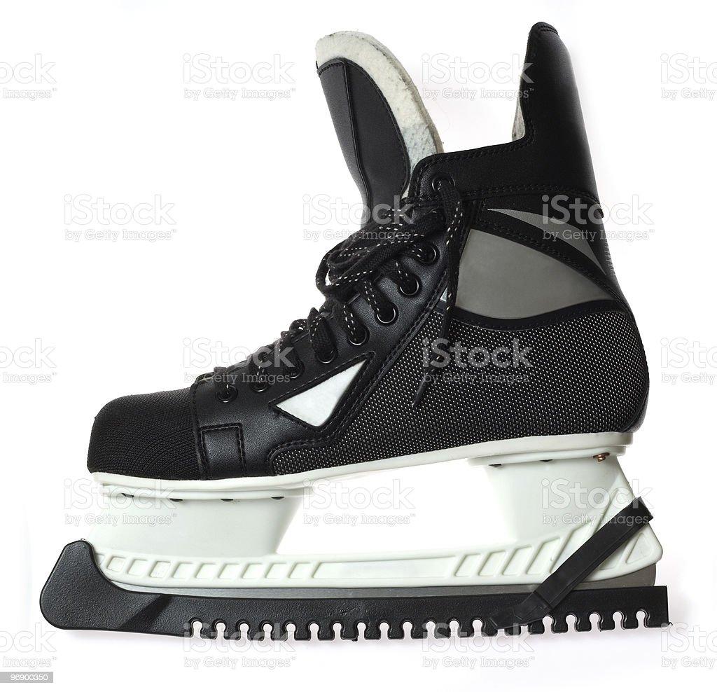 Men's ice skate royalty-free stock photo
