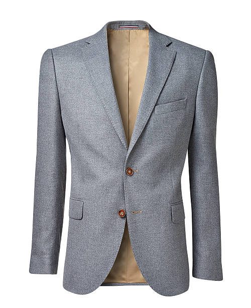 mens jacket isolated on white with clipping path mens jacket isolated on white. with a clipping path. blazer jacket stock pictures, royalty-free photos & images