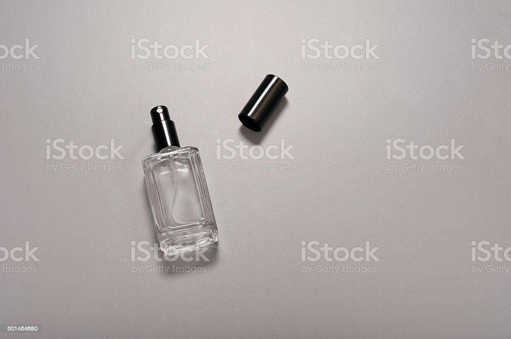 Men's perfume bottle stock photo