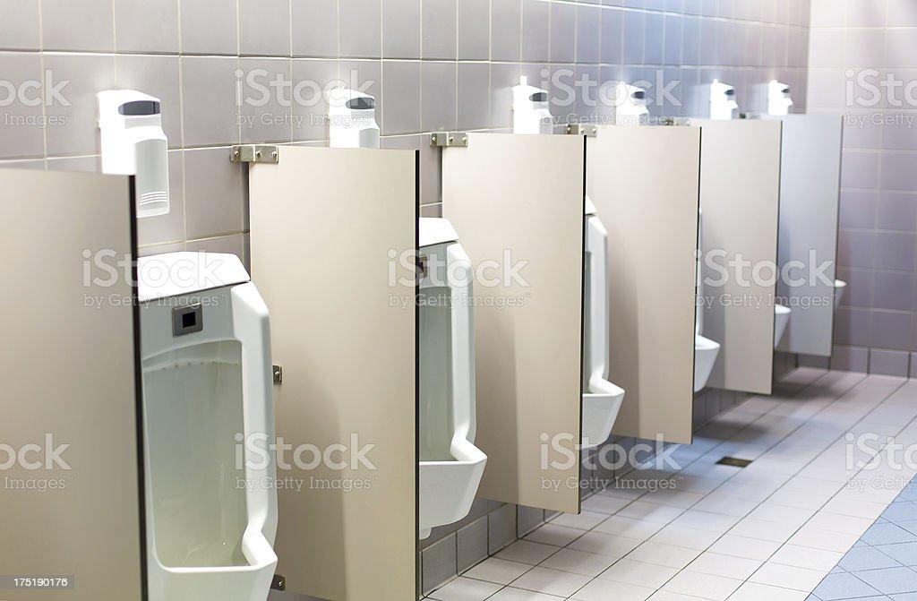 Men's Room royalty-free stock photo