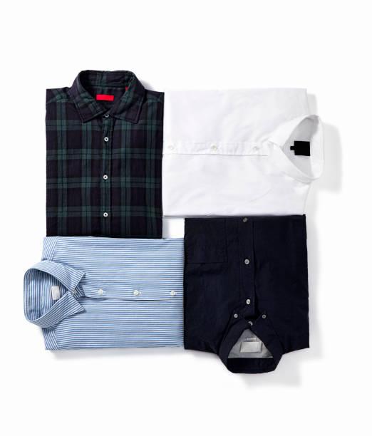 Men's shirts stock photo