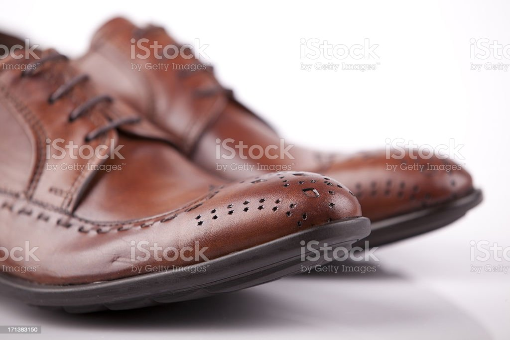 Mens Shoes... royalty-free stock photo