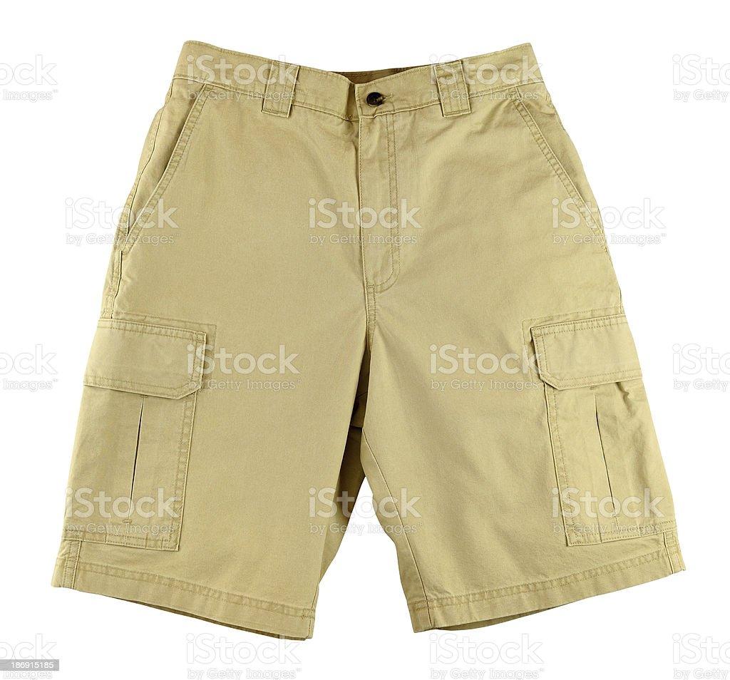 Men's shorts stock photo