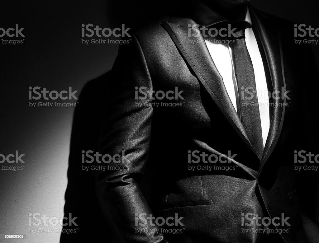 men's suits stock photo