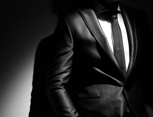 men's suits suits - moda tuxedo stock pictures, royalty-free photos & images