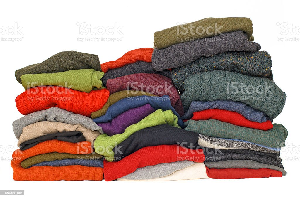 Men's sweaters royalty-free stock photo