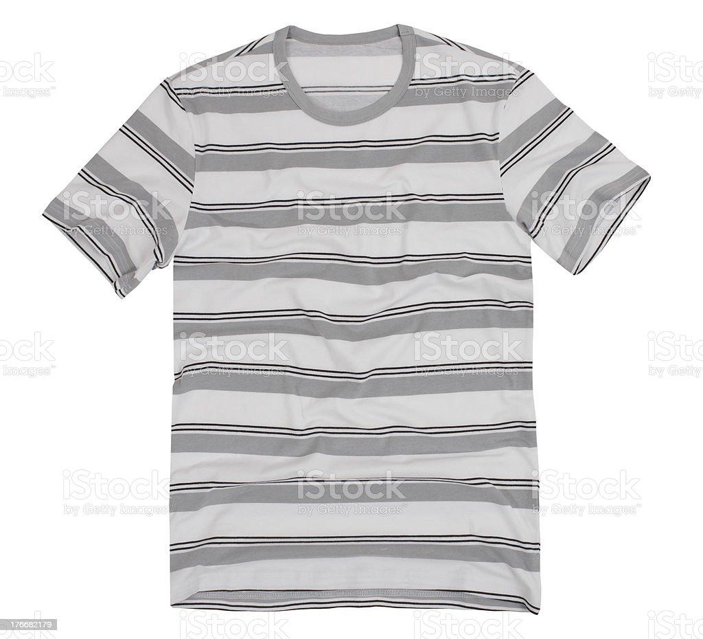 Men's t-shirt isolated royalty-free stock photo
