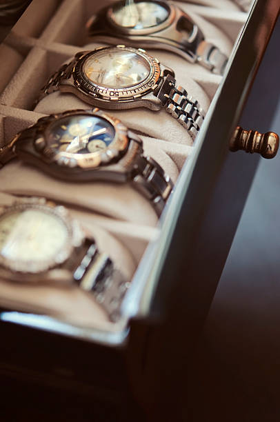 Mens Wrist Watches Mens Wrist Watches luxury watch stock pictures, royalty-free photos & images