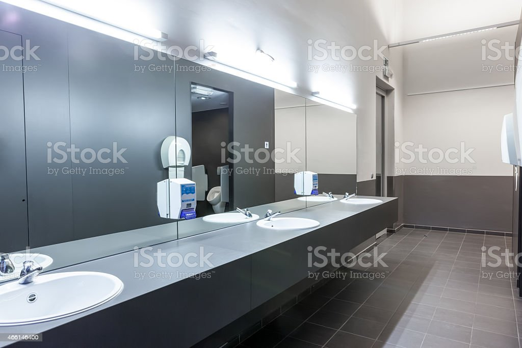 Mensroom stock photo