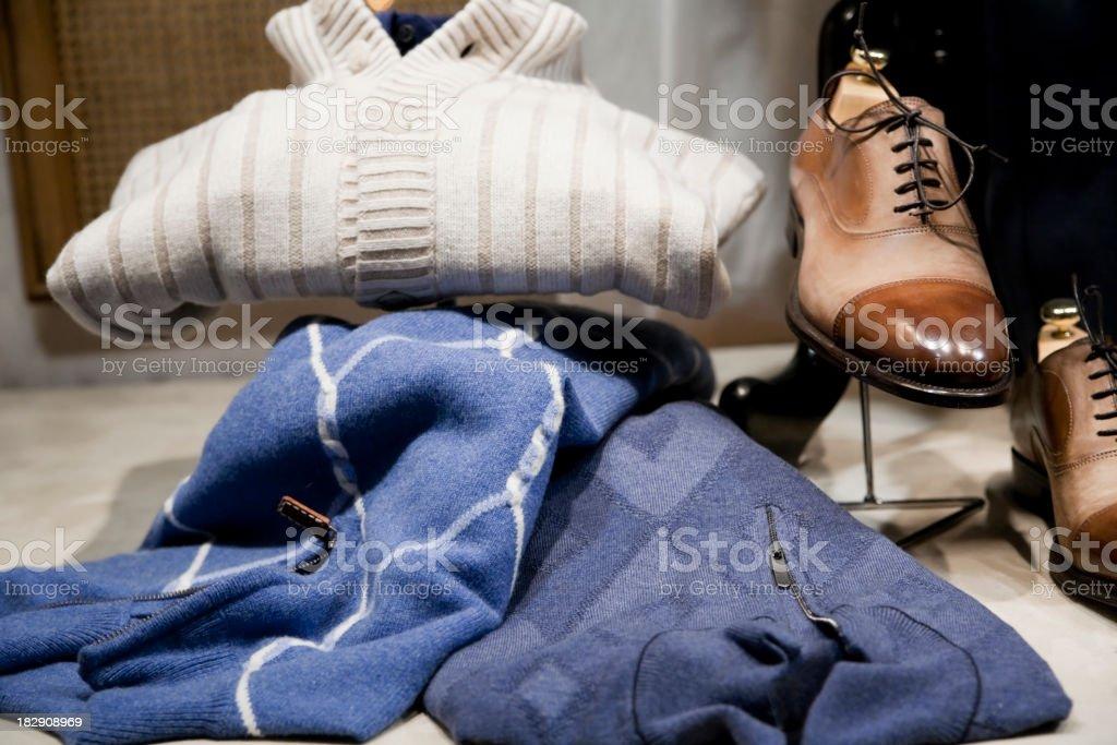 Menswear royalty-free stock photo