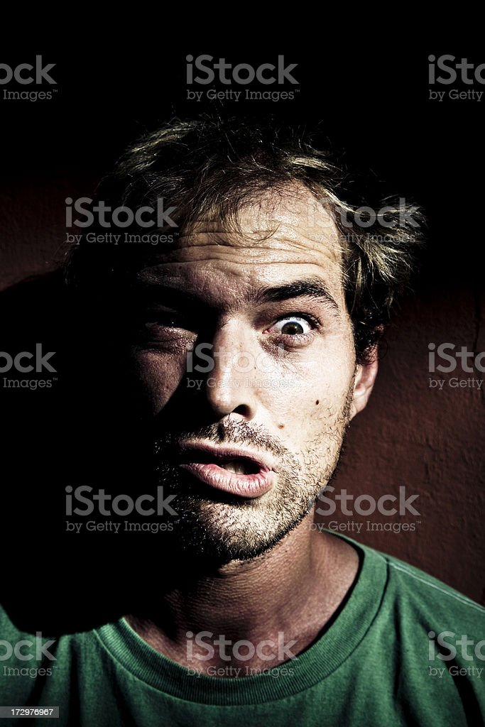 Mental disorder royalty-free stock photo