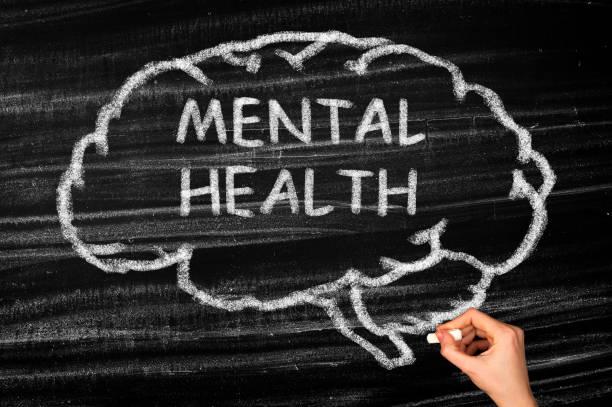 Mental Health Brain Konzept – Foto