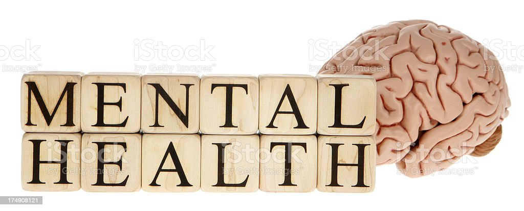 Mental Health royalty-free stock photo