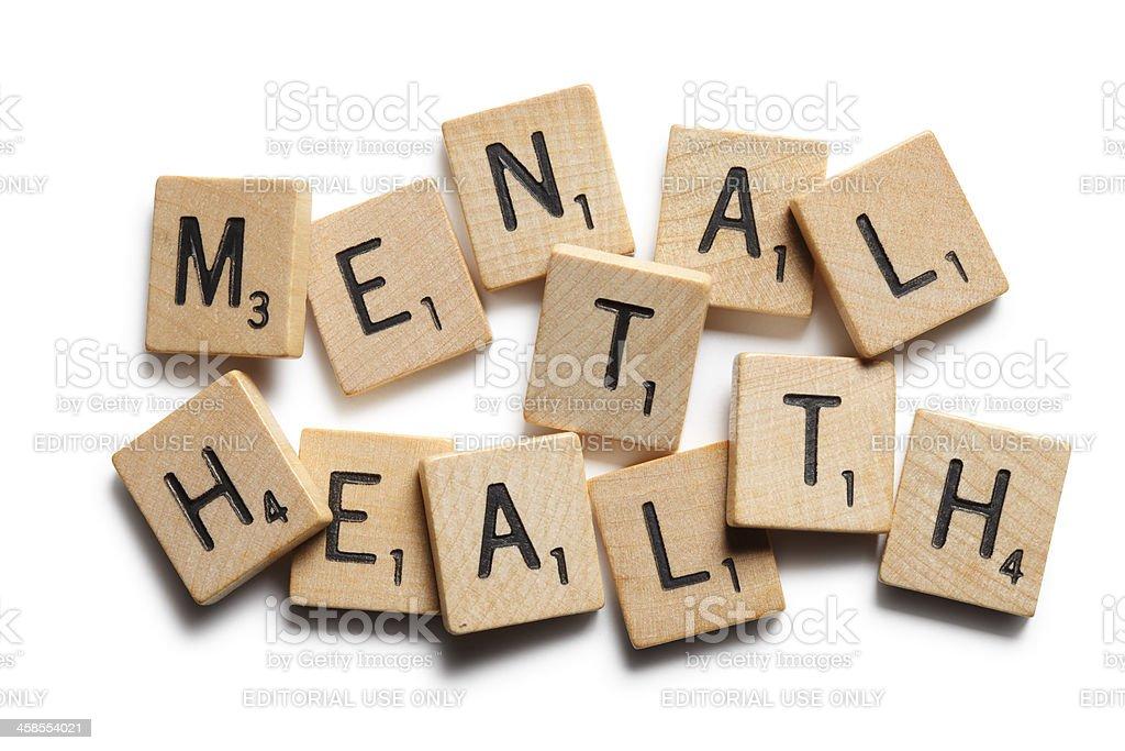 Mental Health stock photo