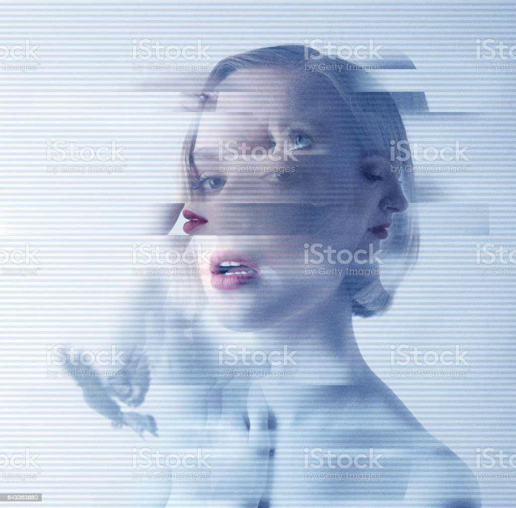 Mental health problems stock photo