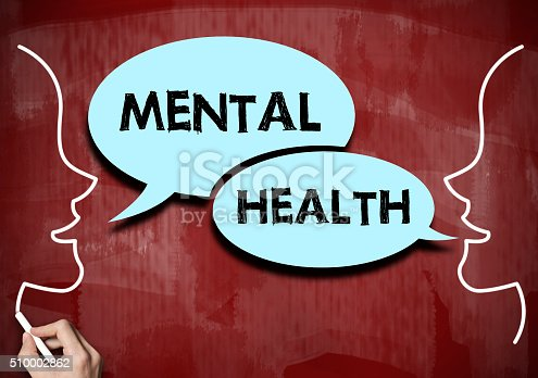 1175869940istockphoto Mental health / Red board concept (Click for more) 510002862
