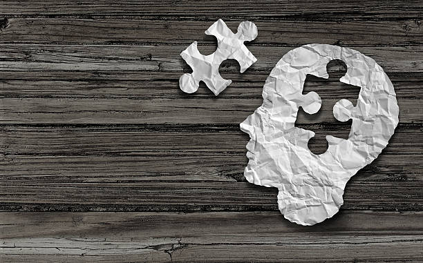 mental health symbol - uneven stock photos and pictures