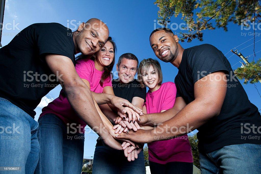 Mental Health Volunteer royalty-free stock photo