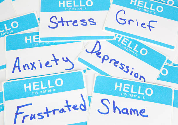 Mental Health Words stock photo