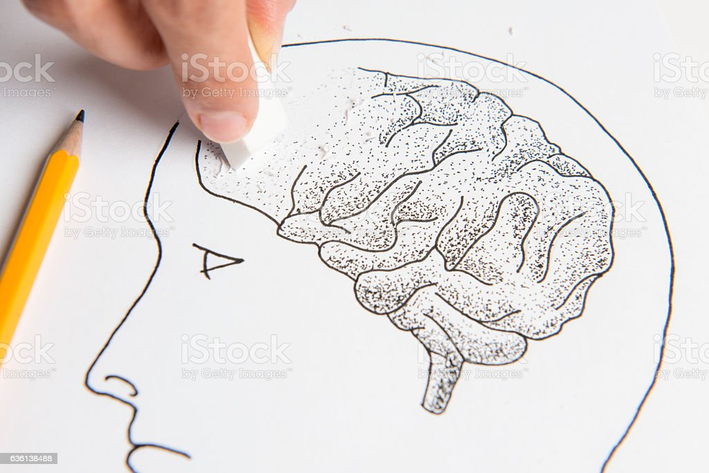 Mental Illness stock photo