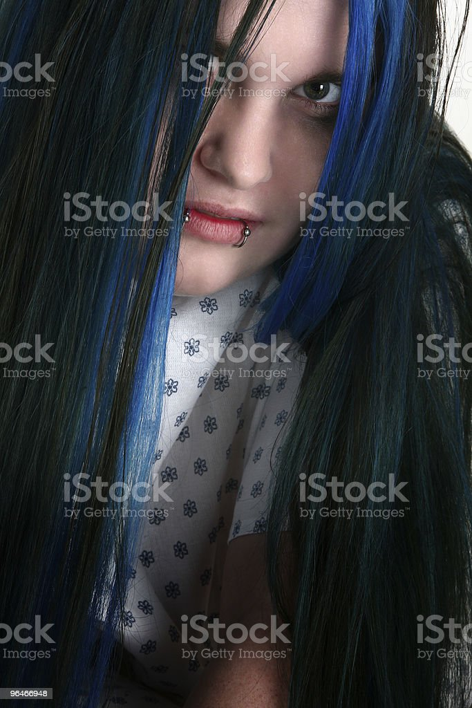 Mental Patient royalty-free stock photo