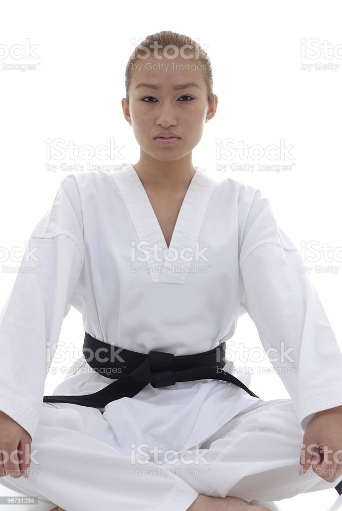 Mental posture royalty-free stock photo