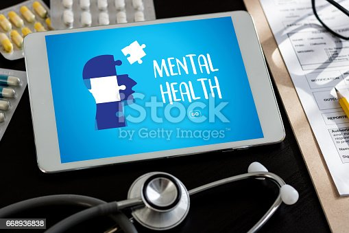 istock MENTAL HEALTH Mental Psychological Stress Management and Psychological trauma Health 668936838