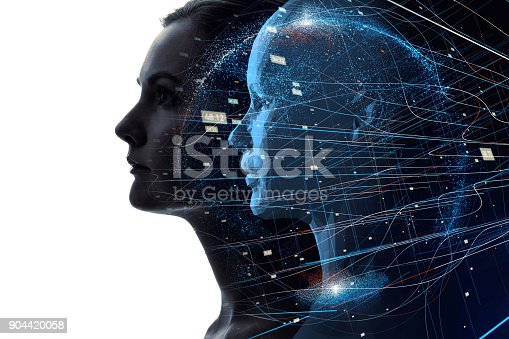 istock Mental world of human concept. 904420058
