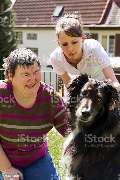 Mentally disabled woman with a dog picture id470618408?b=1&k=6&m=470618408&s=612x612&h=kvoadvca31cthobhsahf8qiw90x9kbeqyemtjauau7m=