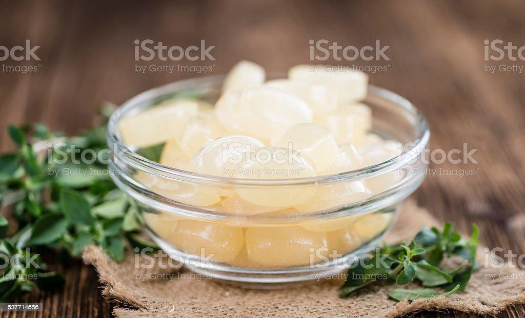 Menthol Candies stock photo