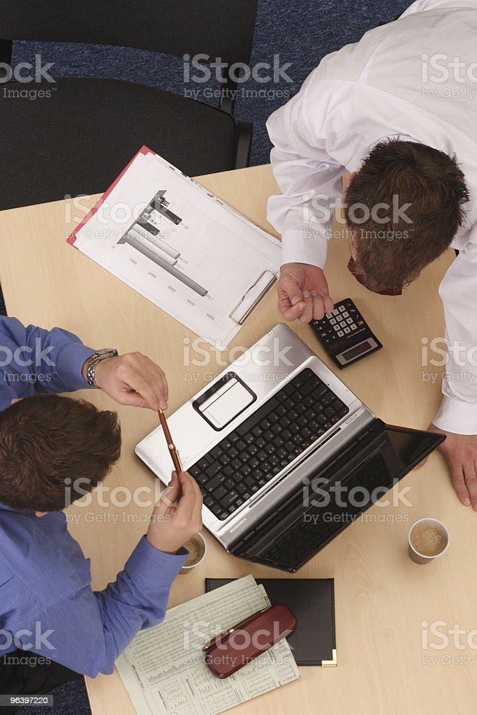 mentoring - Business talk - Royalty-free Adult Stock Photo